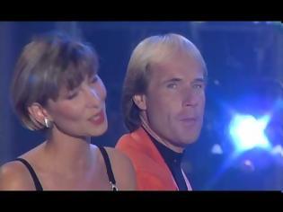 Φωτογραφία για Claudia Jung & Richard Clayderman - Je t'aime mon amour Wie viele Stunden hat die Nacht 1995