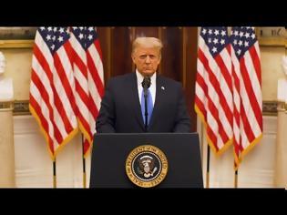 Φωτογραφία για Το «αντίο» του Τραμπ στον αμερικανικό λαό: Προσευχηθείτε για τη νέα κυβέρνηση..  (+vid)