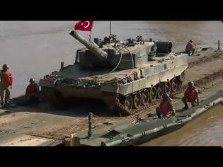 Φωτογραφία για Τουρκία: Προκλητικές ασκήσεις «γεφύρωσης και διάβασης» του ποταμού Έβρου