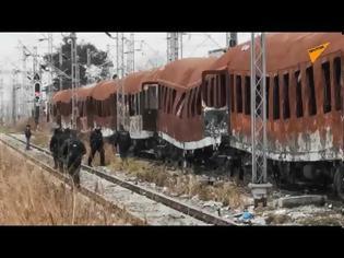 Φωτογραφία για Ρεσάλτο μεταναστών σε τρένα για να φτάσουν Ειδομένη - «Κρύβονται στα χόρτα ή κοιμούνται σε βαγόνια».
