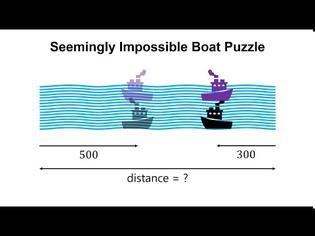 Φωτογραφία για Moscow Puzzles: Ο γρίφος με τις δύο βάρκες