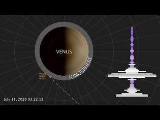 Φωτογραφία για NASA : Η μουσική της Αφροδίτης