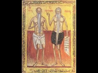 Φωτογραφία για Ι. Μ. Αγίου Νικοδήμου Αγιορείτου Πυργετού: Ιερά Αγρυπνία. Οσίων Ονουφρίου του Αιγυπτίου και Πέτρου του εν Άθω