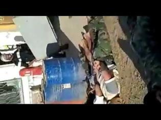 Φωτογραφία για ΒΙΝΤΕΟ - ΣΟΚ / Εκτελέσεις στρατιωτών μπροστά στην κάμερα, η σκληρότητα του εμφυλίου στη Συρία...!!!