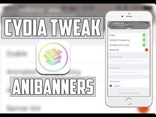 Φωτογραφία για AniBanner: Cydia tweak new v1.0.0-1 ($0.99)...ζωντανέψτε τα banner σας